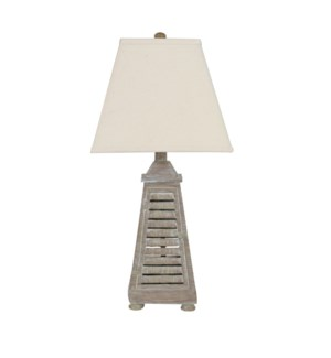Shutter Tower Table Lamp