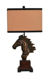 """Running Free Table Lamp 31.5""""Ht."""