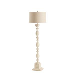 Wood Post Floor Lamp