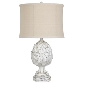 Artichoke Finial Table Lamp