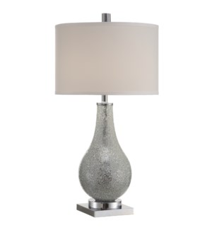 Ascott Silver Table Lamp