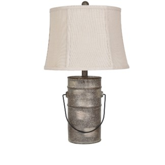 Farm Pail Table Lamp