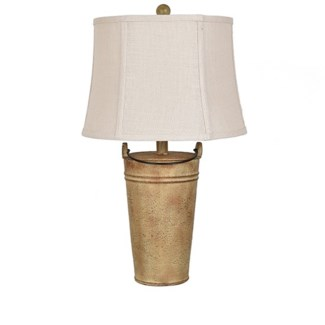 Farm Bucket Table Lamp
