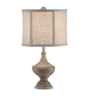 Post Finials Table Lamp