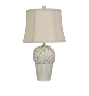 Potted Artichoke Table Lamp