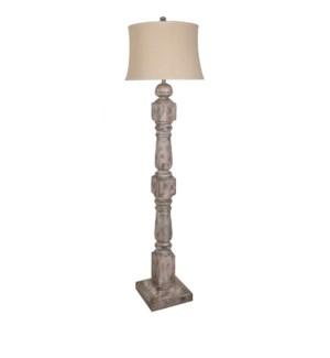 Stair Post Floor Lamp