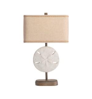 Sand Dollar Table Lamp