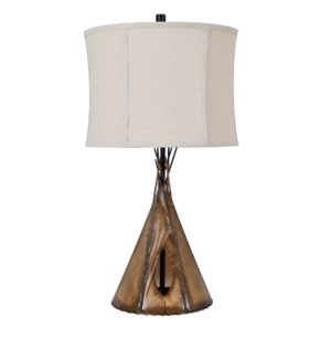 Teepee Table Lamp