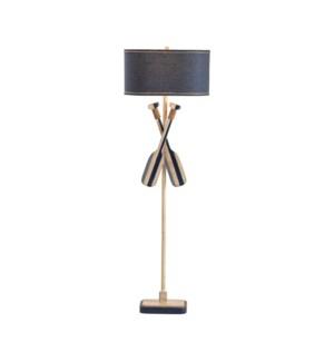 Boat Oar Floor Lamp