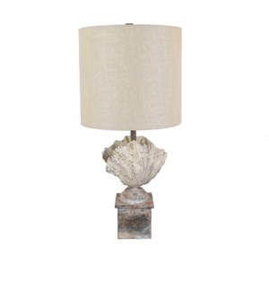 Coastal Shell Finial Table Lamp