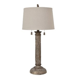 Cotton Wood Table Lamp