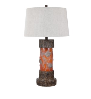 Pine Ridge Table Lamp with Night Light