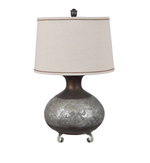 Silver Canyon Table Lamp
