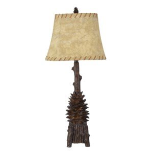 The Standing Pinecone Table Lamp