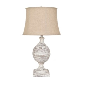 Post Knob Table Lamp