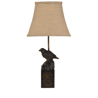 Bird Perch Table Lamp