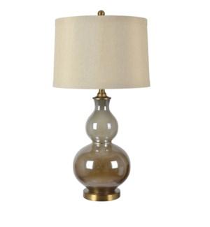 Berkely Glazed Double Gourd Lamp