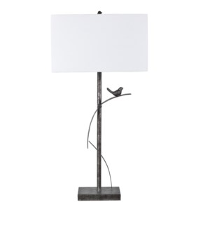 Cleo Simplistic Metal Table Lamp