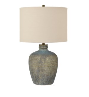 Blaze Earthenware Table Lamp