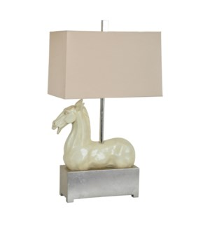 Grecco Horse Table Lamp