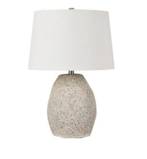 Fiesta Faceted Terrazzo Accent Lamp