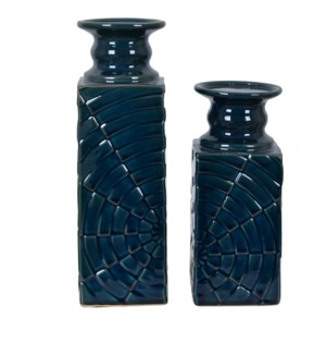 Peafowl Candleholder Set