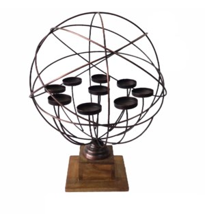 Harlow Spherical Modern Candle Holder