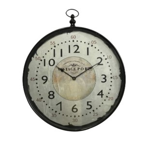 Marisol Bronze Wall Clock