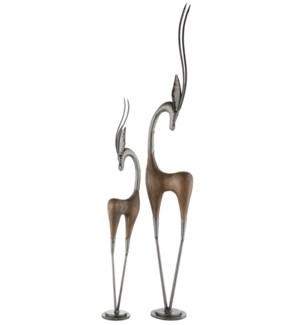 Gazel Statues