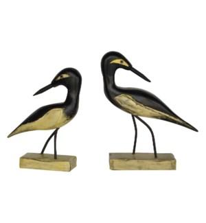 Coastal Bird Statue