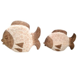 Coral Reef Fish Statues