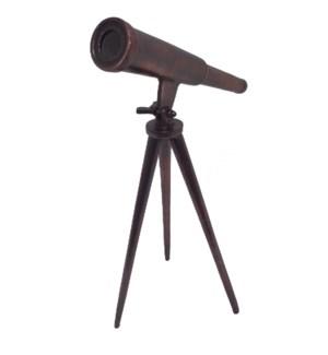 Vintage Telescope Statue