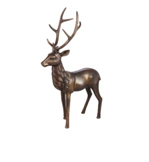 Large Buck Statue