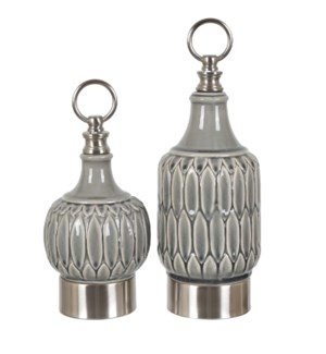 Largo Lidded Containers,Set of 2