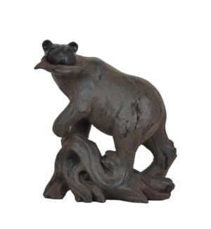 Bear Fishing Statue