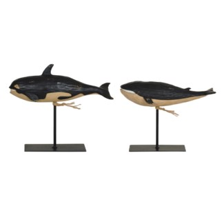 Whale Statues