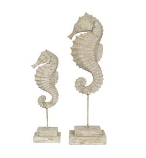 Seahorse Finials
