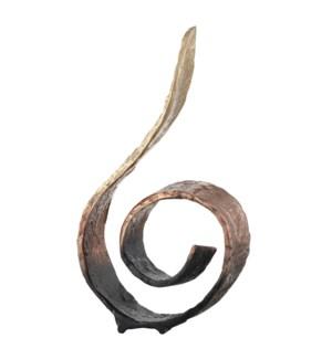 Phoenix Medium Curled Sculpture