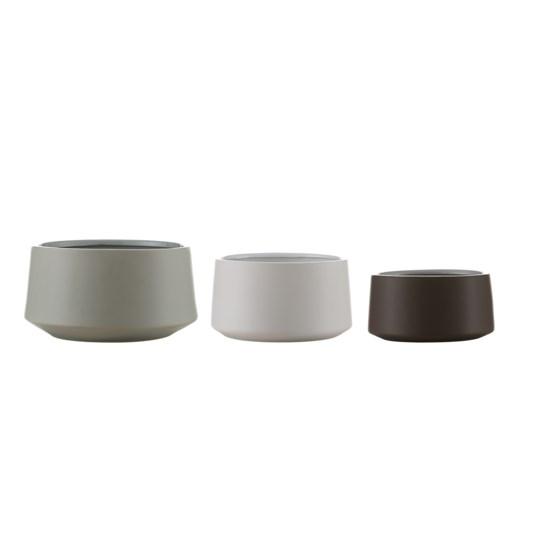 Zen Japanese inspired Nesting Bowls,Set of 3