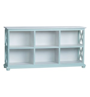 6 Cubby Console