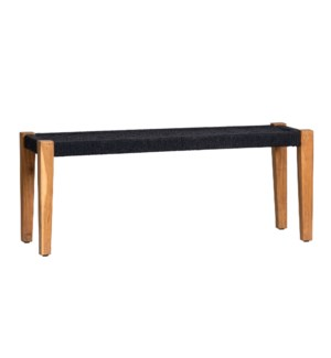 Rock Springs Jute Bench