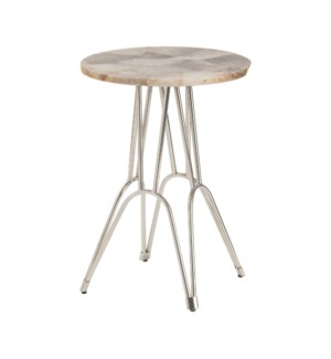 Parisian Round Accent Table