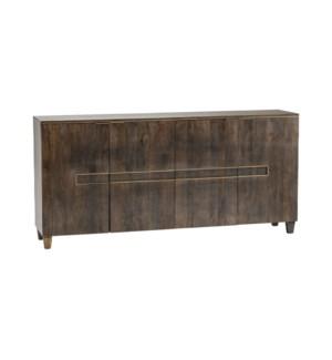 Belle Meade 4 Door Mango Wood Sideboard