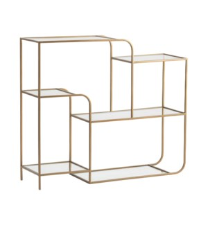 Villa Heights Angled Console Table