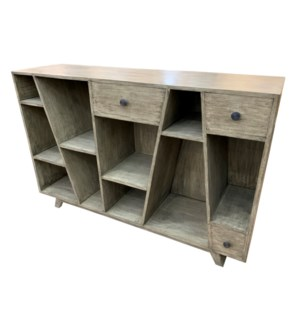 Bengal Manor Angled Console Table