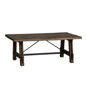 Walden Mango Wood Rectangle Cocktail Table