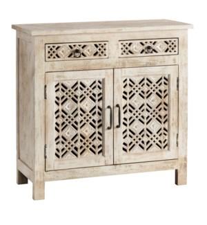 2 Door 2 Drawer Amelia Cabinet