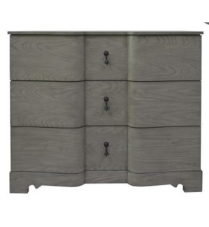 Hawthorne Estate White Wash Shaped Chest