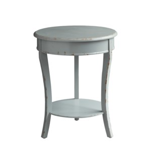 Darcy Shaped 3 Leg Ash Grey Accent Table