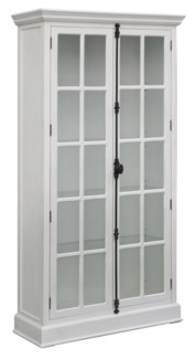 Coventry White 2 Door Curio Cabinet